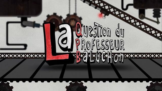 Professeur Baluchon