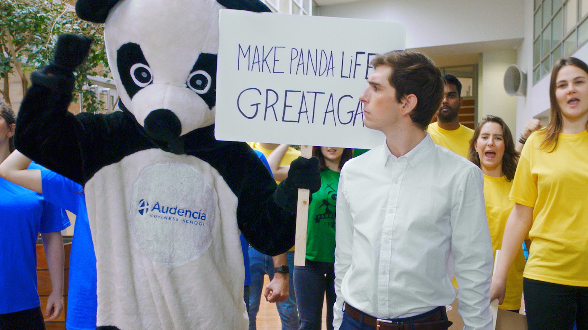 Audencia – Never Stop Daring<br/> Agence : Campus.com